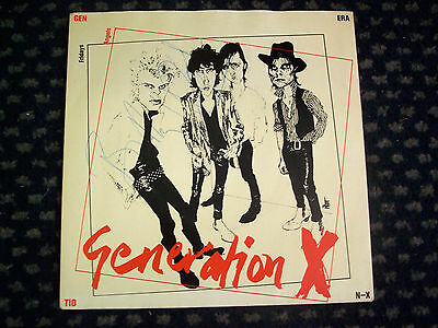 Billy Idol / Generation X - Autographed / Signed By 3 - Friday's Angels Uk 7""