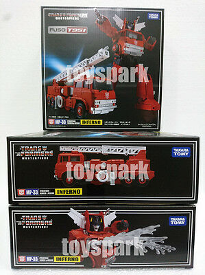 IN STOCK = TAKARA TOMY Transformers Masterpiece MP-33 INFERNO G1 action figure