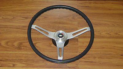 Comfort Grip Steering Wheel Kit Black Cushion 3-spoke El Camino + Pickup Truck