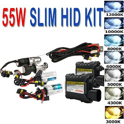 55W HID Xenon Headlight Conversion KIT Bulbs H1/H3/H4/H7/H11/9005/9006/880/881
