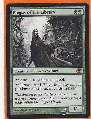 MTG Magic 1 x Planar Chaos Rare  Magus of the Library  Creature Human Wizard