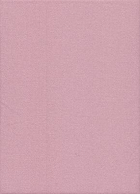 25 count  Zweigart Lugana Cross Stitch Fabric size 49 x 69 cms Ash Rose Pink