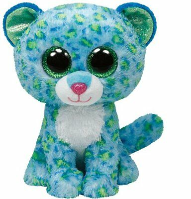 Leona The Leopard Ty Beanie Boos  Brand New 2014 Release