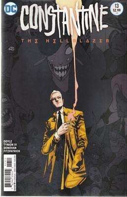 CONSTANTINE THE HELLBLAZER #13 (DC 2016 1st Print) COMIC. BOARDED. FREE UK P&P