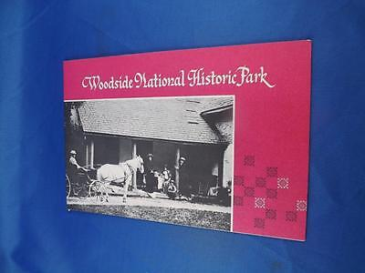 Woodside National Historic Park Booklet Souvenir Kitchener Ontario Canada 1973