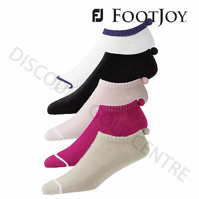 Footjoy Ladies ProDry Light Weight Pompom Golf Socks **Various Colours**