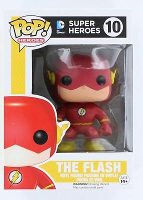 Funko Pop Heroes: DC Comics Super Heroes - The Flash Vinyl Figure Item #2248
