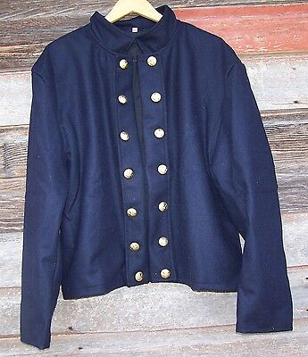 civil war union reenactor officers double breasted shell jacket 44  01
