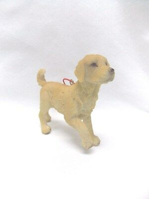 Golden Retriever Dog Figurine Resin Material Christmas Tree Ornament 4 x3 In New