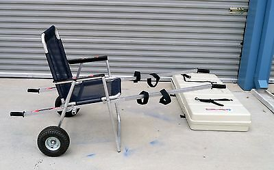 TRANSPORT 430 SPORTS SAFETY INDUSTRIAL EVACUATION CHAIR w/ CASE - 650LBS