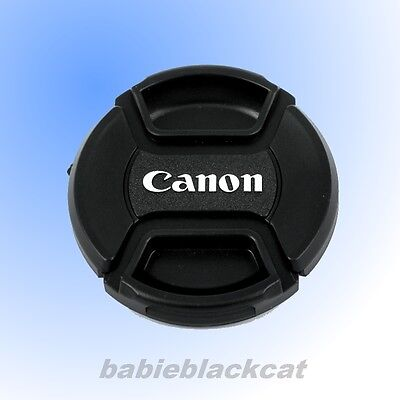 NEW 82mm Front Lens Cap Snap-on Cover for Canon Camera