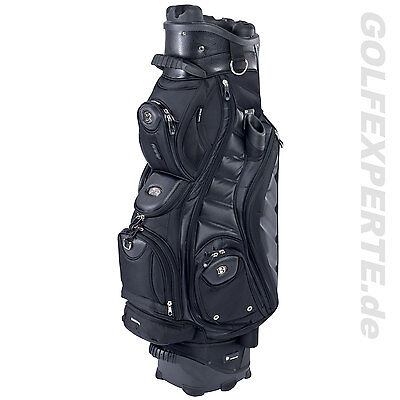 Bennington Golf Herren Cart Bag Qo-9 Black Quiet Organizer Divider-System