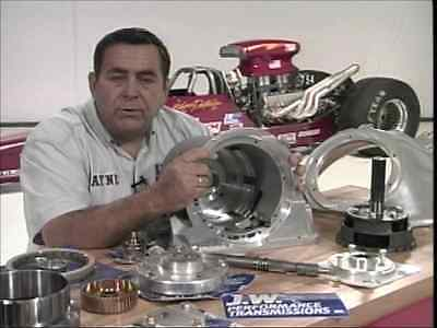 Step by Step Build of The HP Racing Chevy 350 Turbo Automatic Transmission - DVD