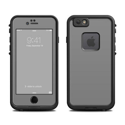 Skin for LifeProof FRE iPhone 6/6S - Solid Grey - Sticker Decal
