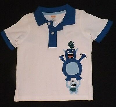 New boys GYMBOREE Space Voyager polo style shirt Size 18-24 months