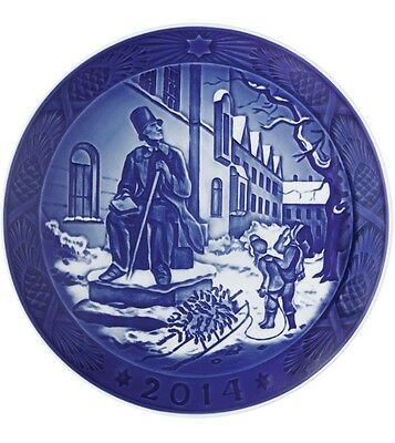 Royal Copenhagen 2014 Christmas Plate NIB H.C. Andersen NEW IN BOX 901114