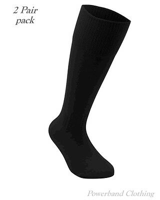 Motorcycle Boot Socks - 2 Pair Pack - Knee Length from Powerband Clothing