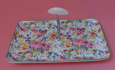 Midwinter Chintz CAKE STAND BRAMA Pattern ART DECO
