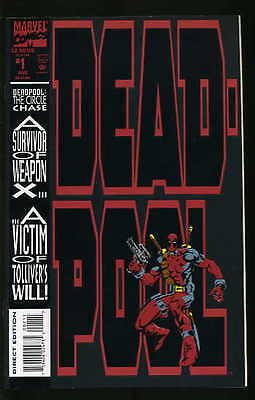 Deadpool The Circle Chase #1-4 Very Fine / Near Mint Complete Set 1993