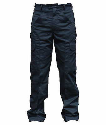 New Police Male Cargo Trousers Black Tactical Patrol Security Dog Handler D3
