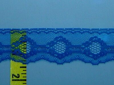 """Scalloped Lace Trim Edging Flat Lace Trim 1-1//4/"""" Red 10 yds #R1"""
