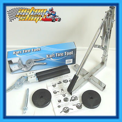 Go Kart Tyre Bead Breaker & Tyre Changing Tools Easy Fitting & Removal