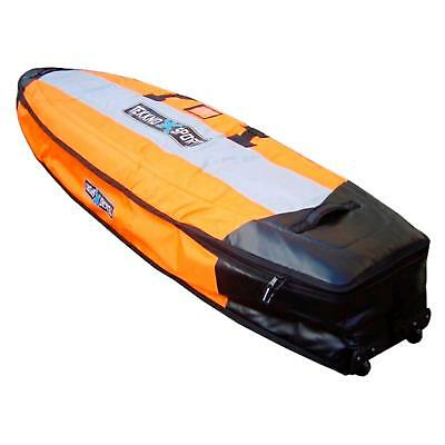 Tekknosport Travel Doppel Boardbag 260 (260x70x25) Orange Windsurf Board Tasche
