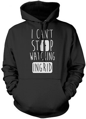 I Can't Stop Watching Ingrid - Vlogger Star Youtuber Kids Hoodie Many Colours