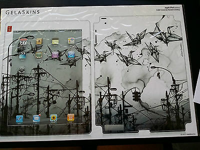 Gelaskins Apple Ipad 2 Decals Stickers Protection Cover Art Prints Cable Cranes