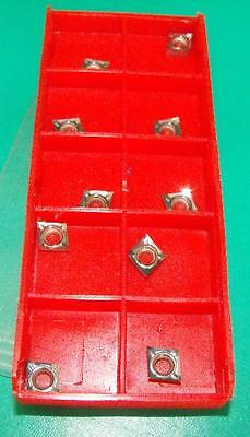 Pack of 10 Gloster CCGT060204AL-GT K10 carbide inserts for aluminium