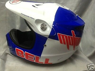 Bell Moto 8 Helmet Mx Red Bull Colours Less Than Half Price Sx Sxf Exc