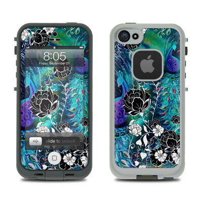 Skin for LifeProof iPhone 5 - Peacock Garden by Juleez - Sticker Decal