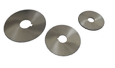 Rdgtools Metric Hss Slitting Saws Various Sizes Bores Milling Engineering Tools