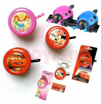 Childrens Bike Bell Bicycle Disney Cars Mouse Boy Girl Christmas Stocking Filler