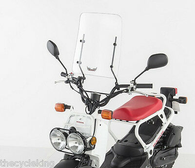 Honda Ruckus 50 & 250 Big Ruckus - NEW Motorcycle/Scooter Windshield with Kit