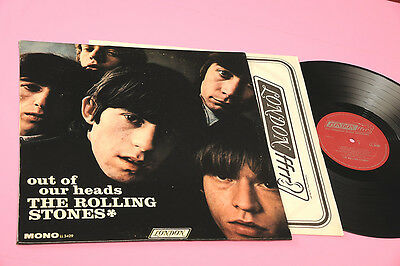 Rolling Stones Lp Out Of Our Heads 1°St Orig 1965 Ex+ Mono Version Deep Groove