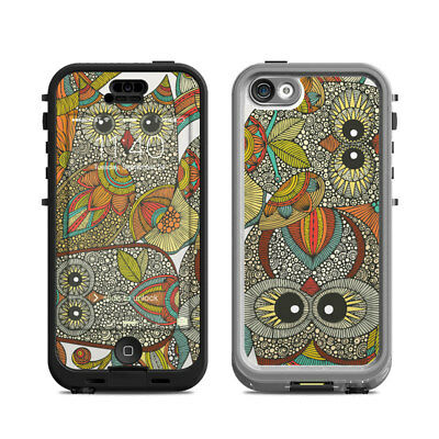 Skin Kit for Lifeproof iPhone 5c NUUD ~ 4 OWLS ~ Decal Sticker