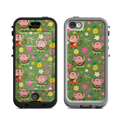 Skin Kit for Lifeproof iPhone 5c NUUD ~ HULA MONKEYS by Fluff ~ Decal Sticker