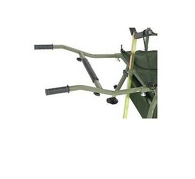 Prestige Carp Porter Spare Handles With Brace Bar *Fits All Prestige Barrows*