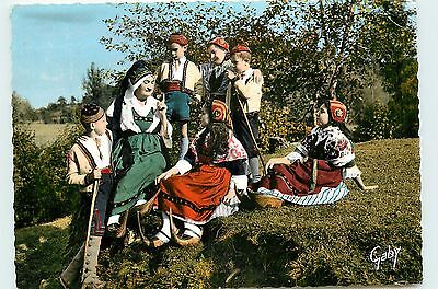 09* ST GIRONS Ggroue folklore   CPSM (10x15cm)