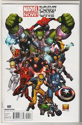 Marvel Now Point One #1 1:50 Quesada Variant Marvel Now 2012 First Print