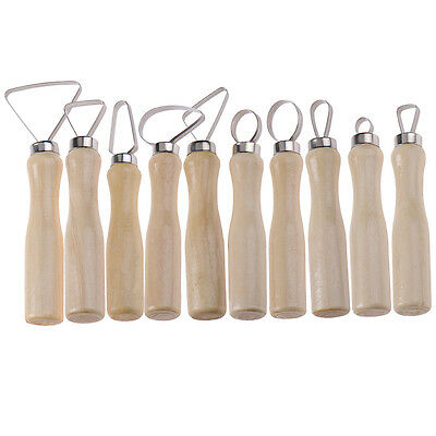 10pcs Pottery Tools Set Wax Clay Soap Carvers Clay Sculpture Modelling Carving