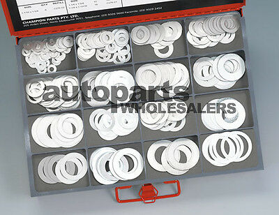CHAMPION MASTER KIT SHIM STEEL WASHERS ASSORTMENT (466 Pieces)