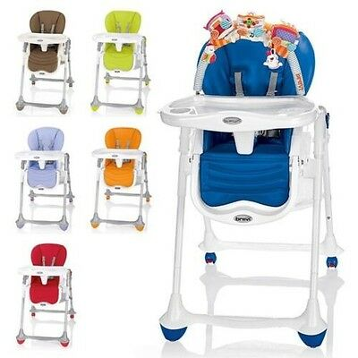 Brevi B Fun Highchair from Birth with Reclining Function & Play Mat New