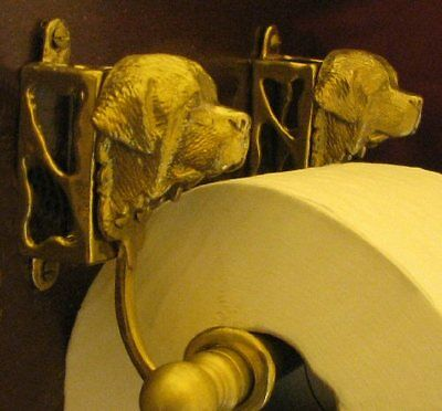 NEWFOUNDLAND, LANDSEER Toilet Paper Holder OR Paper Towel Holder!