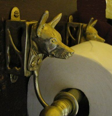 XOLOITZCUINTLE, Mexican Hairless Toilet Paper Holder OR Paper Towel Holder