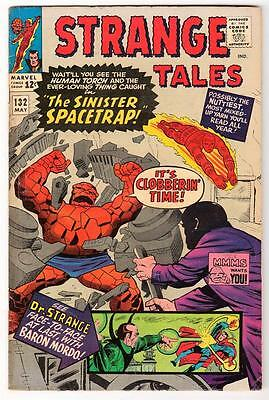 MARVEL Comics  STRANGE TALES THING HUMAN TORCH #132  1965  fn