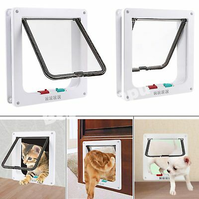 4-way Magnetic lockable pet door for cats and dogs
