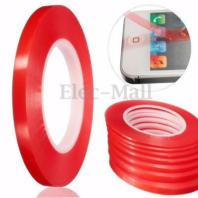 2-10mm 50M Double Side Tape Strong Sticky Adhesive For Mobile Cell Phone Repair