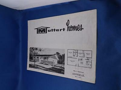 Muttart Homes Floor Plans Lay Outs Building Sale Brochure Ready To Erect